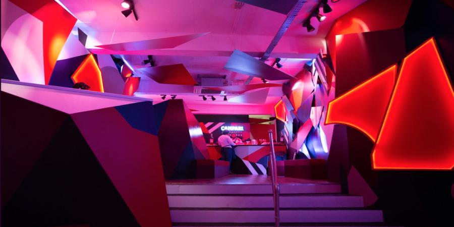 Campari Creates: Art Installation in Brick Lane