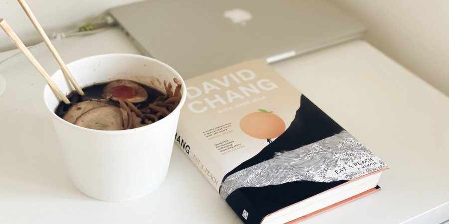 Dinner with a Book: Eat a Peach