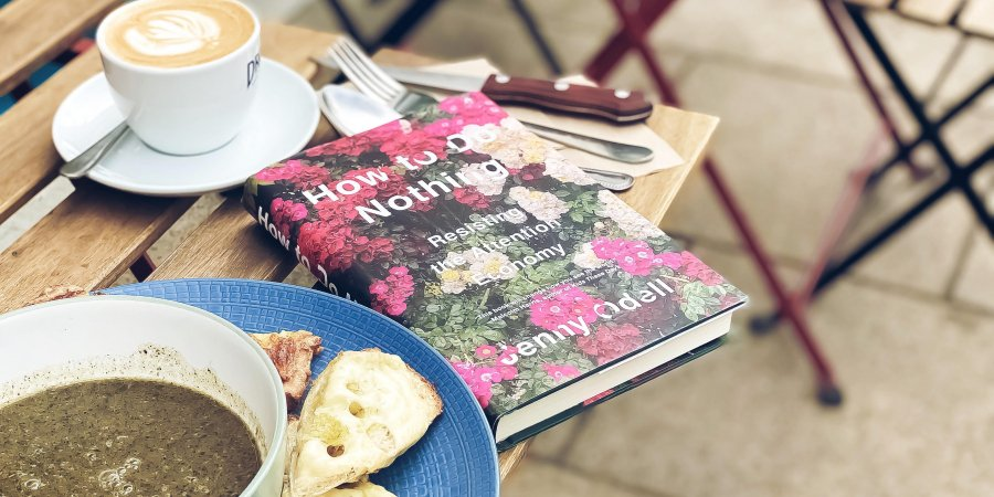 Dinner with a Book: How to do Nothing