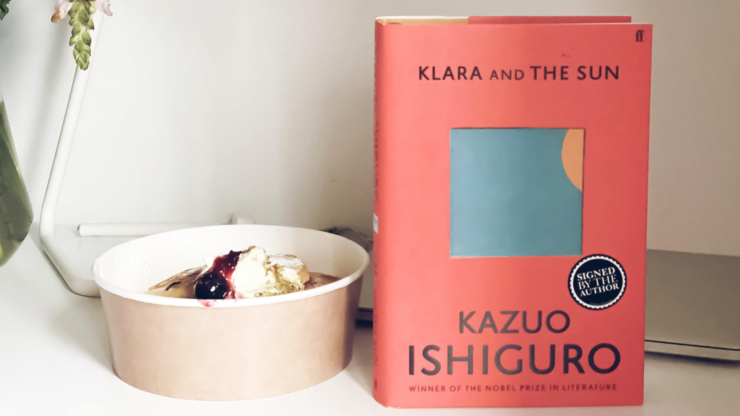Dinner with a Book: Klara and the Sun