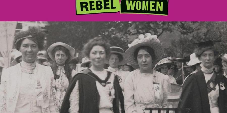 The National Portrait Gallery: Rebel Women