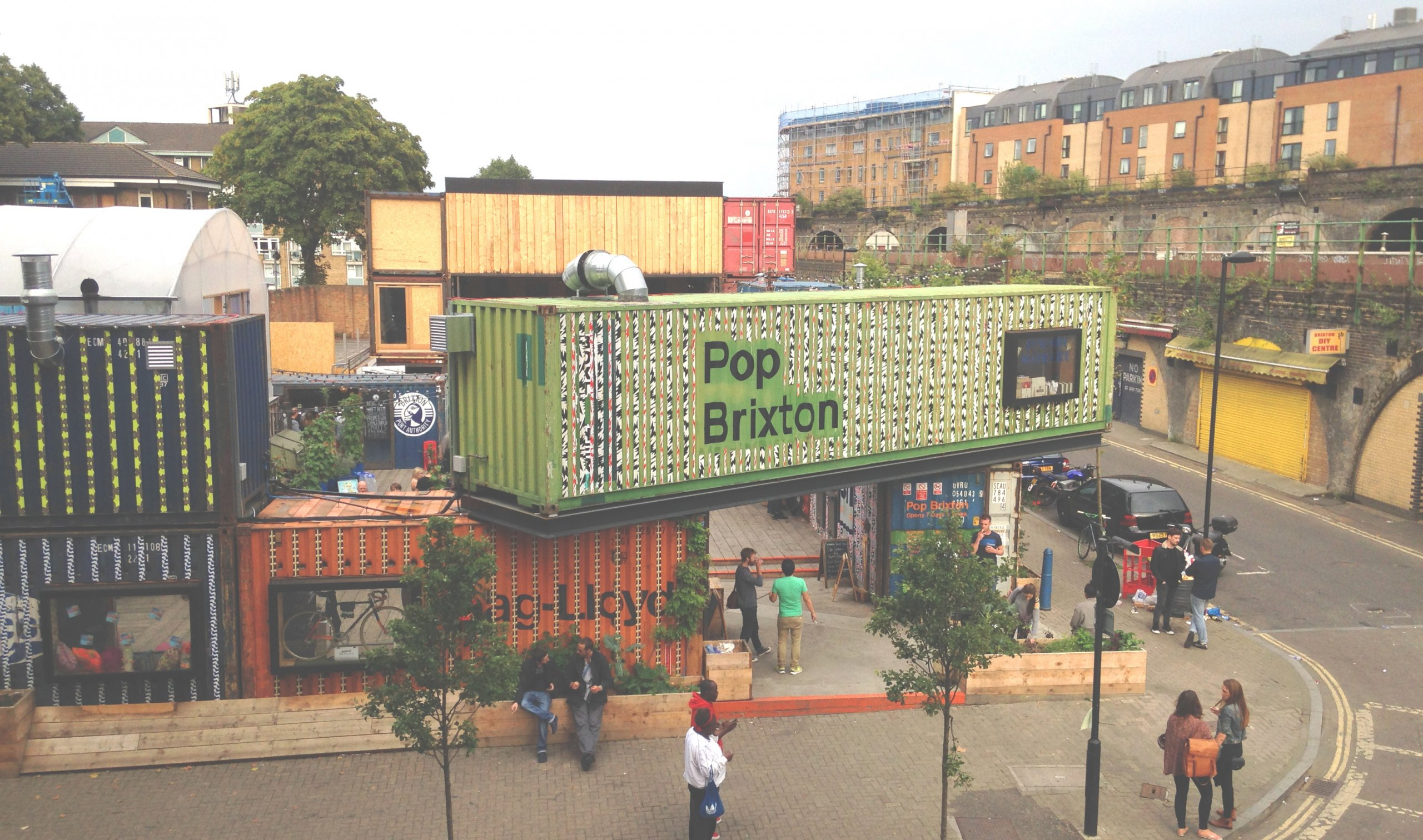 Top of the Pops: Rise of Shipping Container Campuses?