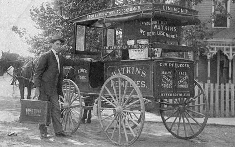 Brief History of Salesmen