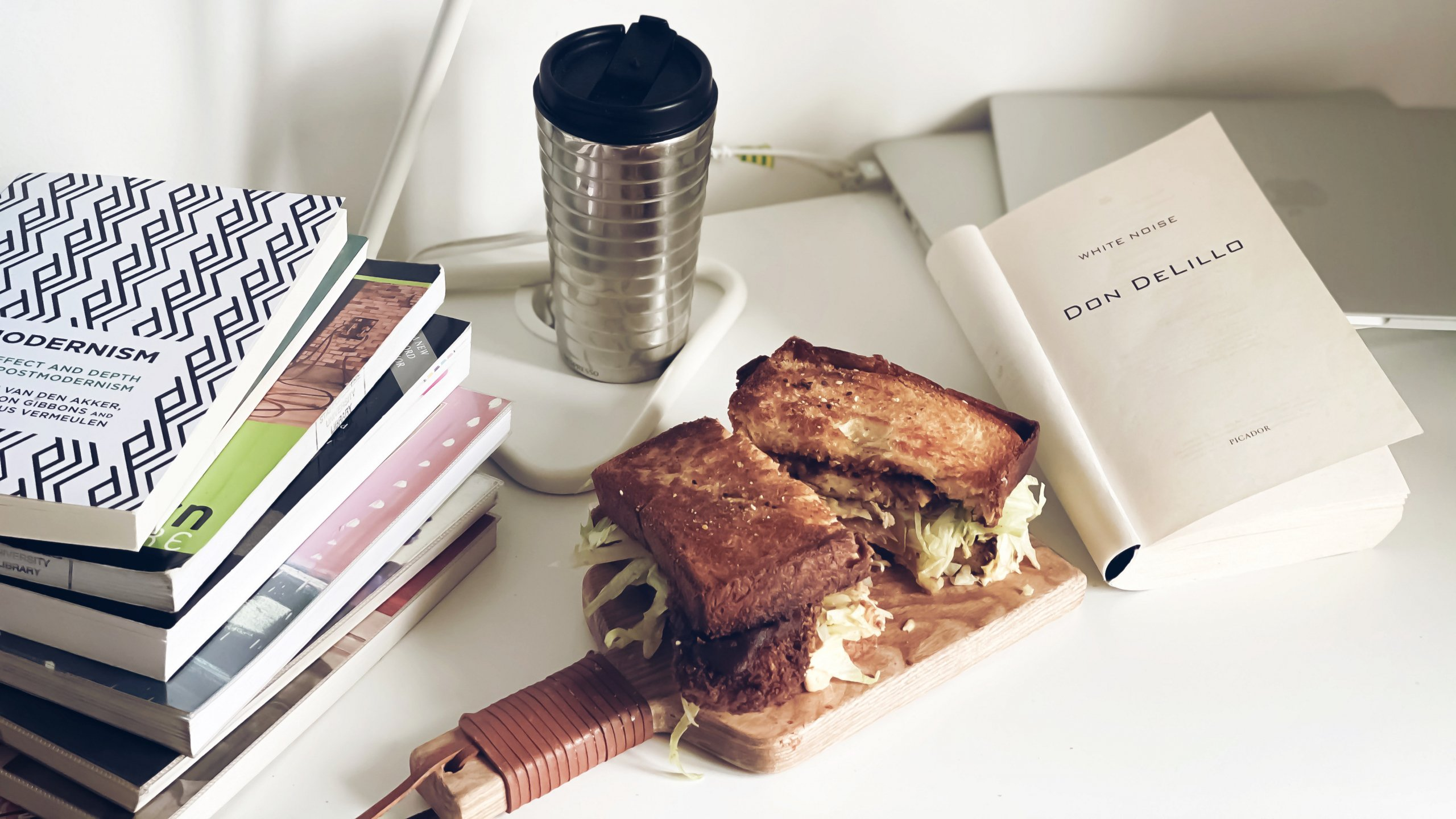 Dinner with a Book: White Noise